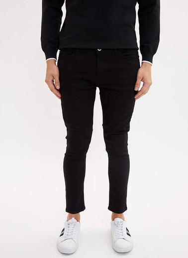 DeFacto Skinny Comfort Fit Jean Pantolon Siyah